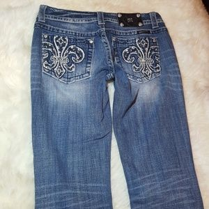 Miss Me Jeans size 29x31 boot cut mid